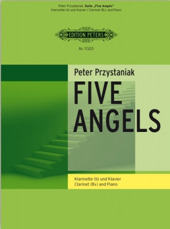 Five Angels For Cello & Piano  Book & CD (Peters)