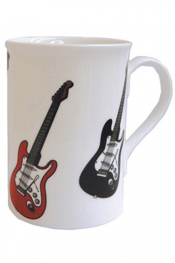 Mug: Acoustic Guitars:  Bone China