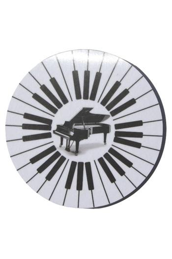 Mugmats Round Keyboard Coasters