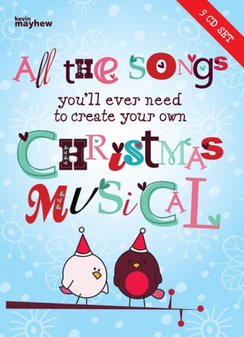 All The Songs You'll Ever Need To Create Your Own Christmas Musical  5-CD Set