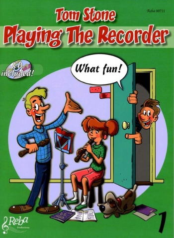 Playing The Recorder What Fun!: Book 1: Tutor: Book & Cd