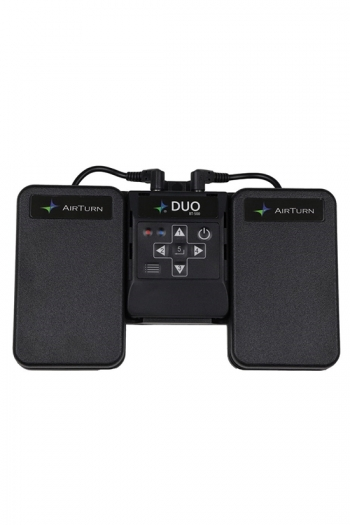 AirTurn DUO 2 BT-106: 2 Pedals And Pedal Board: Bluetooth Hands Free Page Turner For Table
