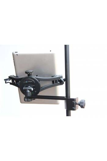AirTurn Manos Universal Tablet Mount With Side Mount Clamp