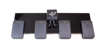 AirTurn DIGIT With 4 ATFS-2 Pedals: Wireless Controller For Tablets & Computer