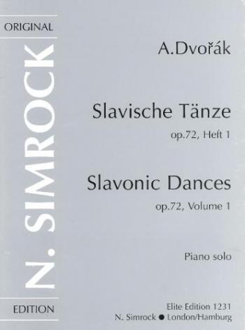 Slavonic Dances Op72: Piano Solo ( Simrock )