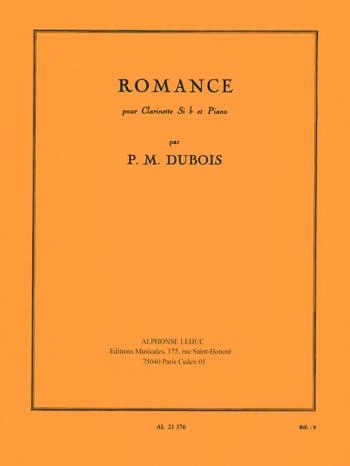 Romance: Clarinet & Piano (Leduc)