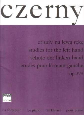 10 Studies For The Left Hand: Op399: Piano Studies (Paderewski)