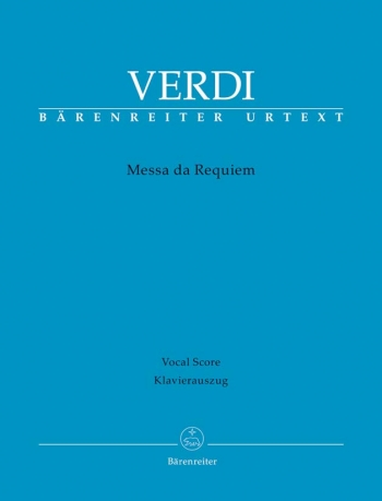 Messa Da Requiem: Vocal Score (Barenreiter)
