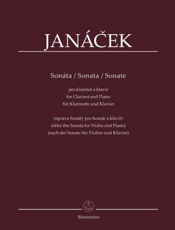 Sonata For Clarinet & Piano (Barenreiter)