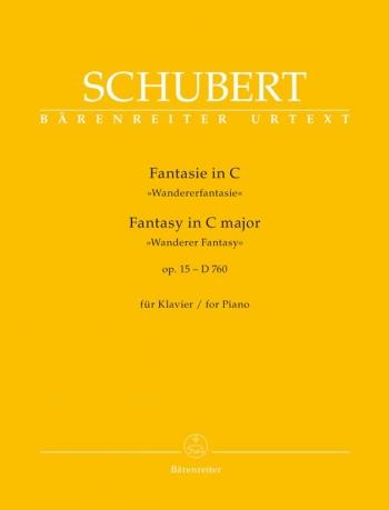 Fantasy In C Major Op15- D760: Wanderer Fantasy: Piano (Barenreiter)