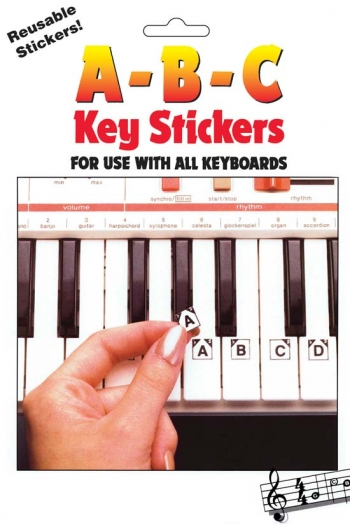 Stickers  ABC Keyboard Stickers (Reusable)