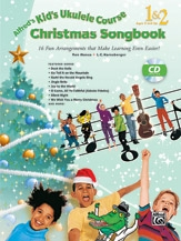 Alfred Kids Ukulele Course Christmas Songbook 1 & 2 Book & CD