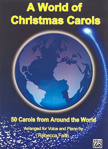A World Of Christmas Carols For Voice & Piano
