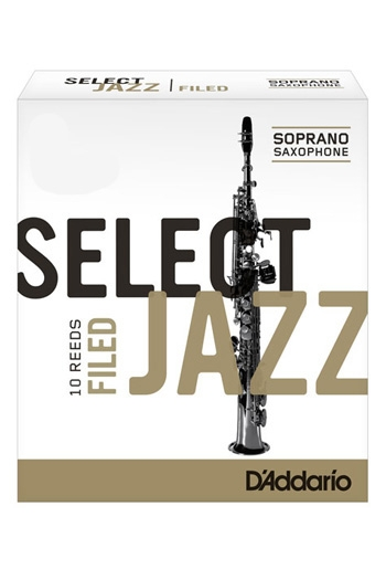 D'Addario Select Jazz Soprano Reeds Filed
