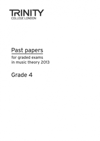 Trinity Past Paper Grade 4 2013