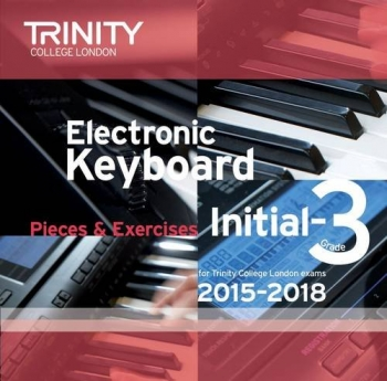 Trinity College London Electronic Keyboard: 2015-2018 Grade Initial-3: CD Only