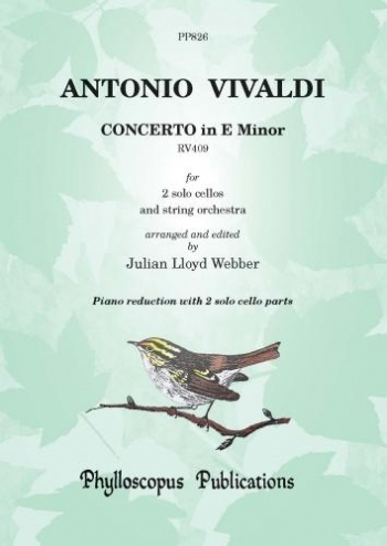 Vivaldi: Concerto: E Minor: Two Cellos And Piano (Lloyd Webber)