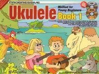Progressive Ukulele Method For Young Beginners Book 1 (A5) Book Online Video & Audio