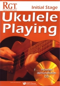 Registry Of Guitar Tutors: Ukulele Playing - Initial Stage (Book/CD)