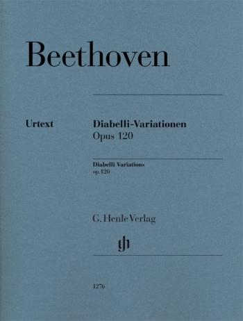 Variations Op120 Diabelli: Variations: Piano (Beethoven) (Henle)