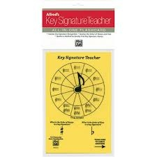 Alfred: Key Signature Teacher: All In One Flashcard (Yellow)