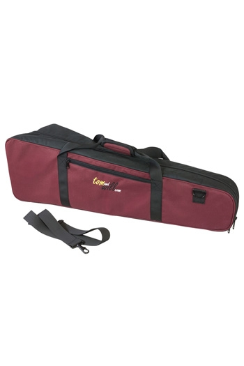 Trombone Case: Gig Bag: Shaped Black & Burgundy