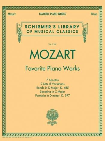 Favorite Piano Works  (Schirmer)