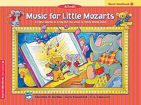 Alfred Music For Little Mozarts Workbook 1