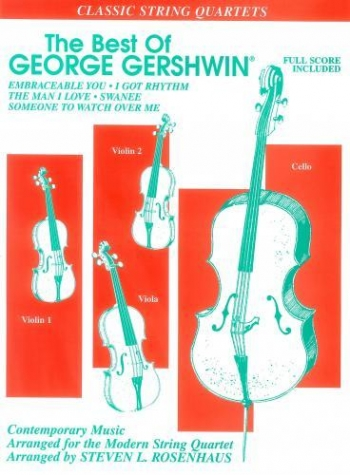 Best Of George Gershwin String Quartet: Score & Parts (Ligon)