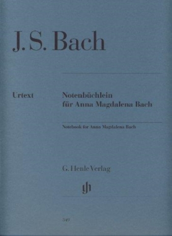Notebook For Anna Magdalena Bach: Piano (Henle)