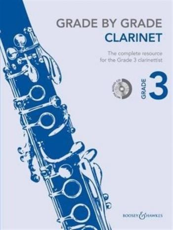 Grade By Grade Clarinet: Grade 3: Book & Cd