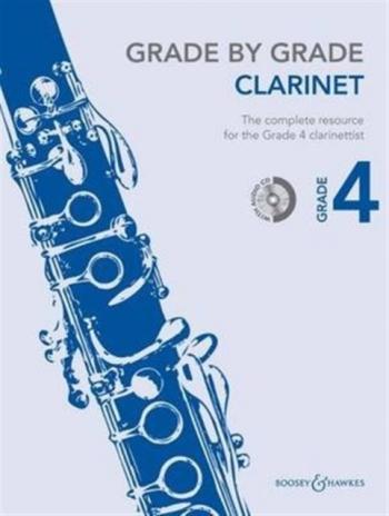 Grade By Grade Clarinet: Grade 4: Book & Cd