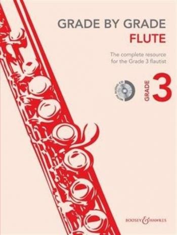 Grade By Grade Flute: Grade 3: Book & Cd