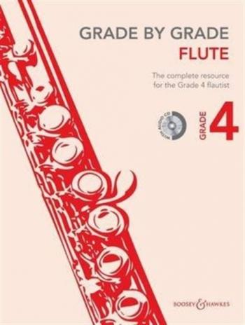 Grade By Grade Flute: Grade 4: Book & Cd