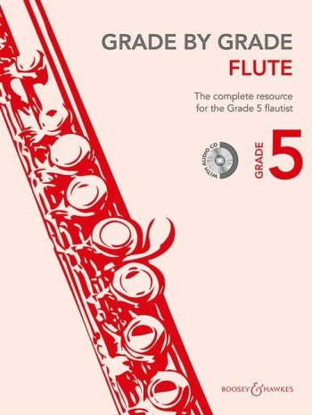 Grade By Grade Flute: Grade 5: Book & Cd