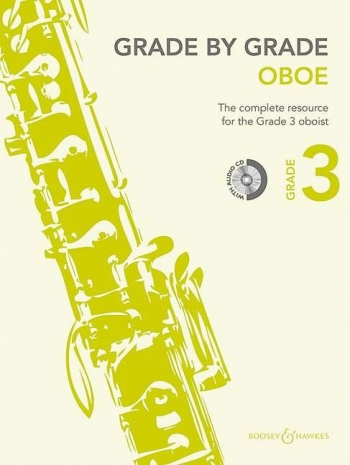 Grade By Grade Oboe: Grade 3: Book & Cd