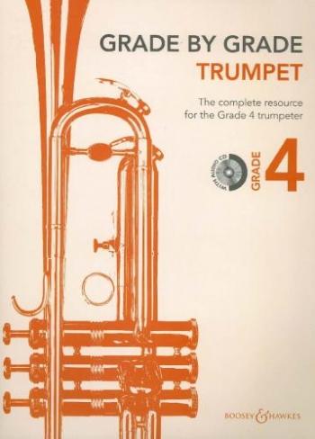 Grade By Grade Trumpet: Grade 4: Book & Cd