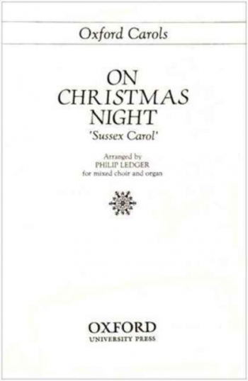 Sussex Carol: Vocal: SATB & Organ