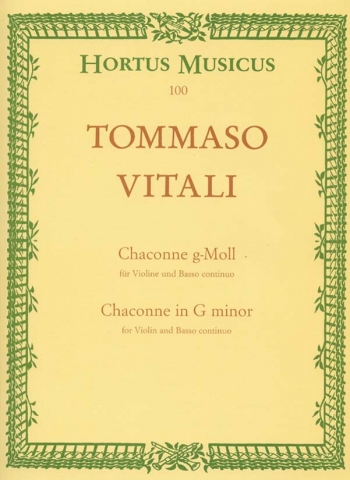 Ciaccona: Violin & Piano (Hortus Musicus)
