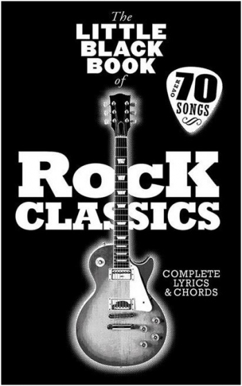 Little Black Of Rock Classics: Lyrics & Chords