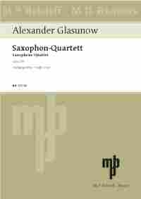 Saxophone Quartet Bb Major, Op. 109: Study Score - Piano Reduction Included