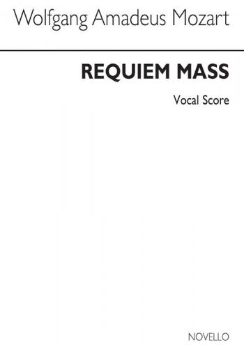 Requiem KV626 Vocal Score (Best) (Novello)