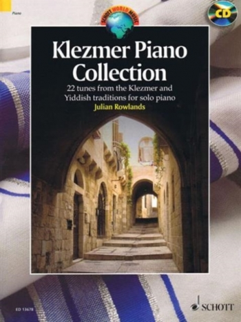 Klezmer Piano Collection 22 From The Klezmer & Yiddish Traditions For Piano Solo (Rowlands)