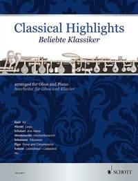 Classical Highlights Arr For Oboe & Piano