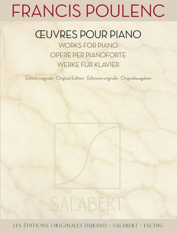 Œuvres Pour Piano - Works For Piano (Salabert)