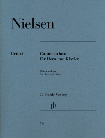 Canto Serioso: French Horn & Piano (Henle)