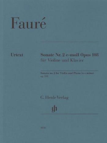 Sonata No 2 E Minor OP 108: Violin & Piano (Henle)
