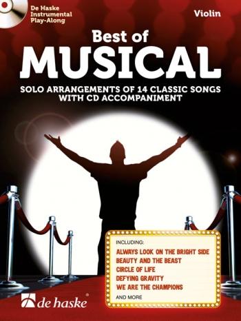 Best Of Musical: Violin Book & Cd
