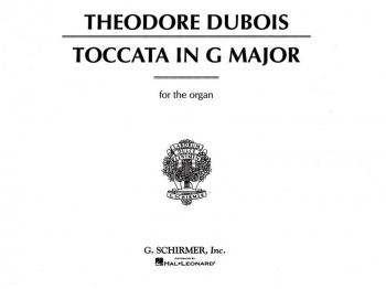 Toccata In G Major  Organ (Schirmer)