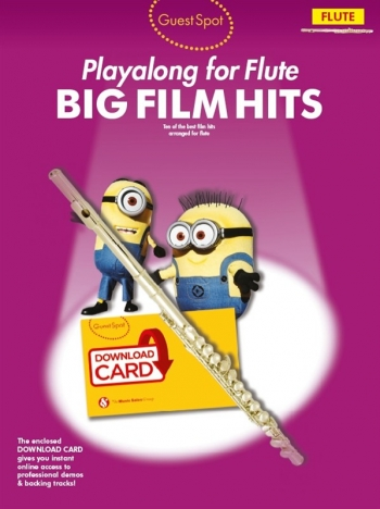 Guest Spot: Big Film Hits Flute (Book/Download Card)